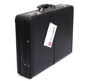 alpine swiss expandable attache case