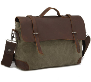 Kattee Canvas Briefcase
