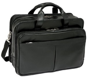 McKlein USA Walton Leather Laptop Briefcase