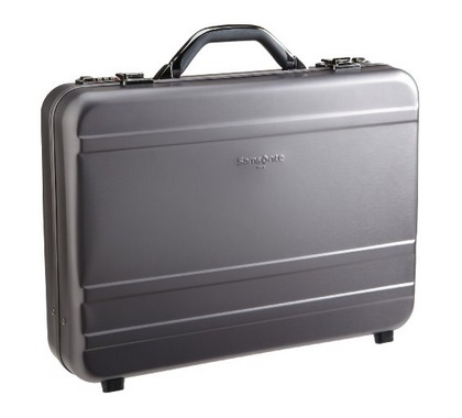 samsonite aluminum attache case