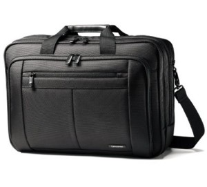 Samsonite Three Gusset Toploader Laptop Briefcase
