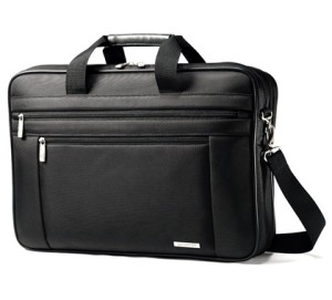Samsonite Two Gusset Toploader Laptop Briefcase