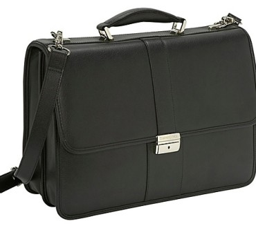Samsonite Leather Flapover Briefcase Review