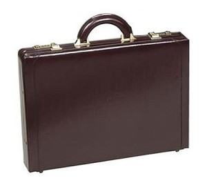 winn executive slim attache case