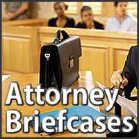 attorney briefcases