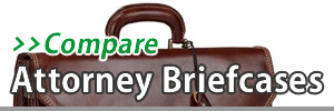 Top 5 Best Attorney Briefcases