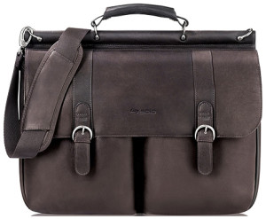 SOLO Classic Collection Colombian Leather Briefcase