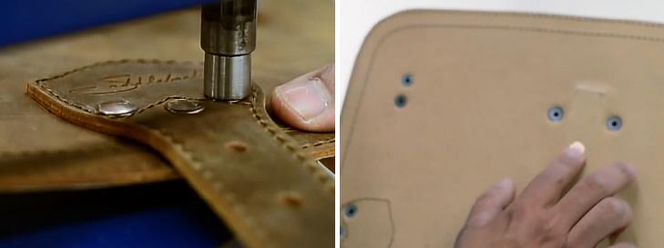 saddleback leather classic rivets