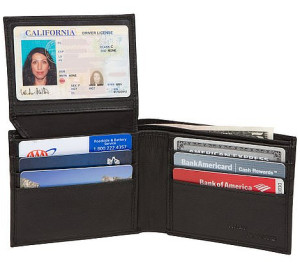 Access Denied RFID Blocking Leather Wallet