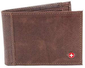 Alpine Swiss Thin Slimfold Leather Wallet