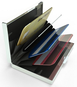 BRYK Stainless Steel RFID Blocking Wallet