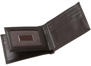 Calvin Klein Bookfold Leather Wallet For Men