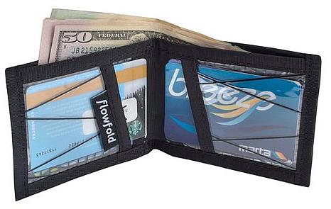 Flowfold Sailcloth Billfold Wallet