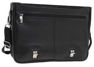 Kenneth Cole Reaction A Brief History Leather Briefcase