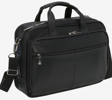 Kenneth Cole Reaction I Rest My Case Leather Briefcase Review