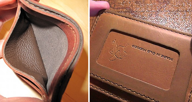 Saddleback Leather Slim ID Wallet