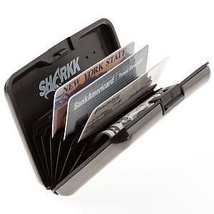 Shark Aluminum RFID Blocking Wallet