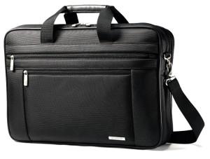 """Samsonite Classic Two Gusset 17"""" Toploader Laptop Bag"""