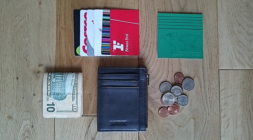 MVRIK Neat Slim Front Pocket Wallet