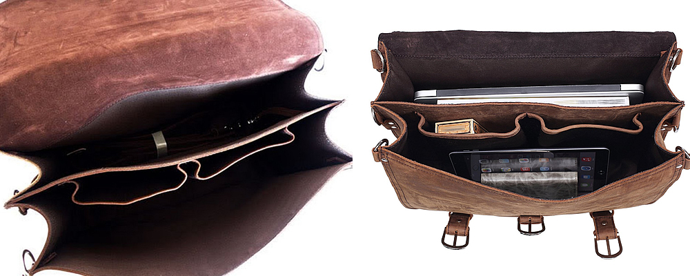Polare Real Cow Leather Briefcase Review