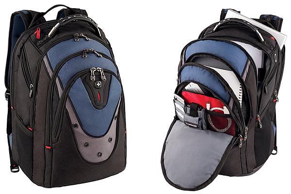 SwissGear Blue Ibex Business Travel Backpack For Men