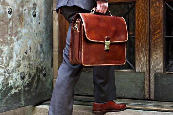 Top 10 Best Brown Leather Briefcases For Men | BMB