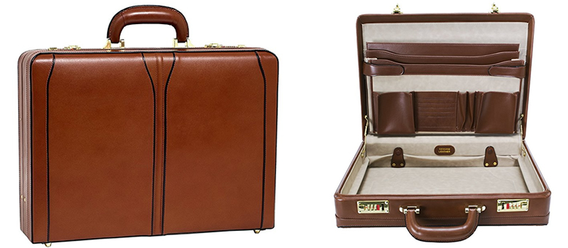 McKlein USA Turner Brown Leather Briefcase Review