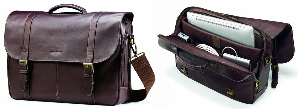 Samsonite Colombian Brown Leather Briefcase Review